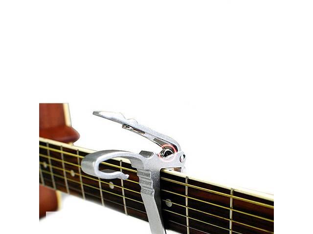 продам Каподастр для гитары, триггер, капо, зажим, прищепка, металл бу в Харькове