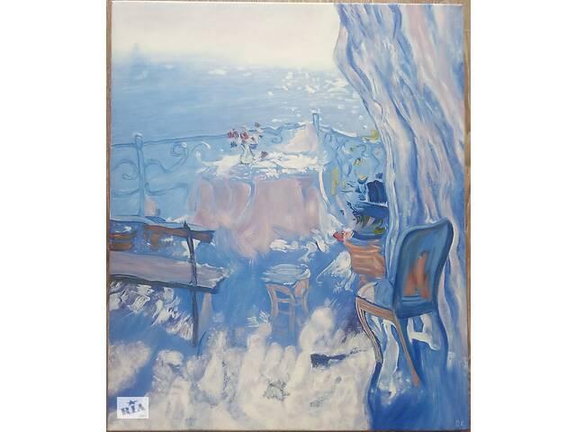 """купить бу Картина """"Терасса"""", 50х60см, холст, масло в Виннице"""