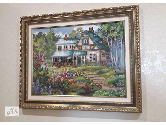 продам Картина вишита хрестиком бу в Ивано-Франковске