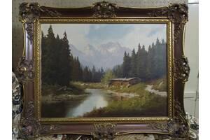 Картины маслом на холсте и дереве (привезены с Германии)