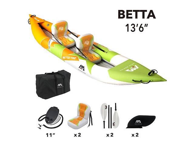 продам Каяк надувний Aqua Marina Betta 13.6& Prime ;, 2021, BE-412 бу в Полтаві