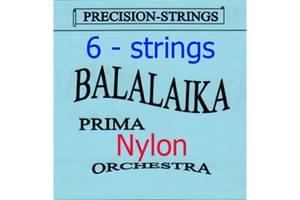 Комплект Нейлонових струн для Балалайки Прима 6-ст