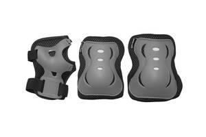 Комплект защитный SportVida SV-KY0007-M Size M Grey/Black