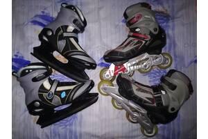 Коньки роликовые GForce + коньки Signa Sport