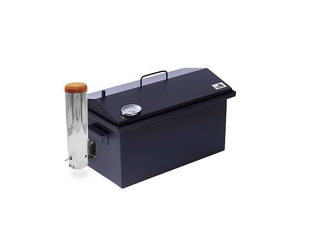 продам Коптильня с дымогенератором и термометром для горячего и холодного копчения Smoke House 520х300х310 Окрашенная бу в Киеве