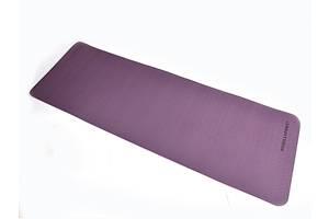 Коврик для йоги TPE  183 х 61 х 0,6 см 2-х слойный фиолетово-розовый