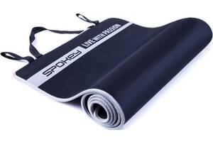 Коврик для йоги и фитнеса Spokey Flexmat V синий