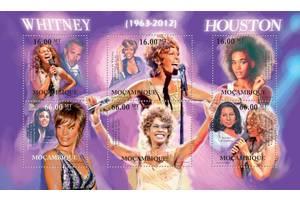 Красивые марки певица Уитни Хьюстон