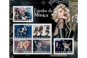 Красивые марки Звезды музыки