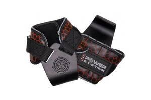 Гаки для тяги на зап'ястя Power System Hooks V2 PS-3360 Black/Red XL (PS_3360_Black/Red XL)