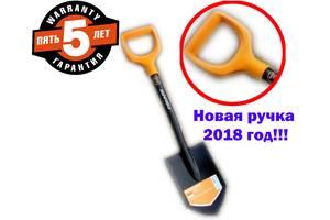 Лопата Fiskars Solid 131417 Саперка Оригінал 5 РОКІВ гарантія Нов Ручка