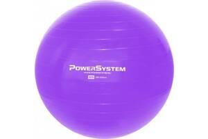Мяч для фітнесу і гімнастики Power System 85 cm Purple SKL24-292011