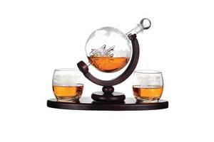 Набор для виски в подарочной коробке BST 640014 Навколо Світу