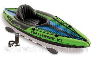 Надувна байдарка Challenger K1 Kayak Intex 68305