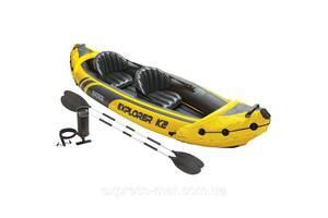 Надувная байдарка Challenger K2 Kayak Intex 68307
