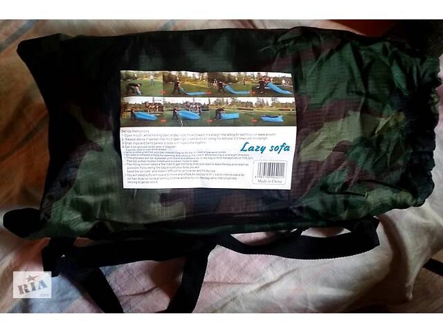 купить бу Надувний діван Ламзак Sofa Lamzac надувний диван великий хакі в Києві
