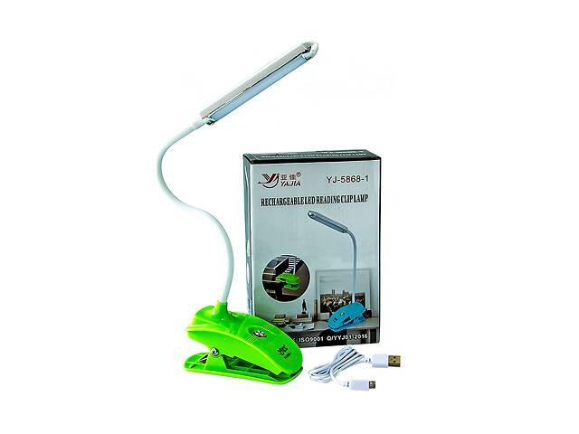 бу Аккумуляторная настольная светодиодная лампа для школьника офиса Yajia лампа прищепка на аккумуляторе в Харькове