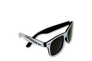 Очки солнцезащитные Haibike бело-чёрная оправа