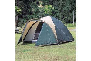 Палатка, 4, четырех, местная, двухслойная, с тамбуром, монтана, туристическая