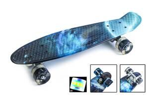 Penny Board Galaxy Светящиеся колеса
