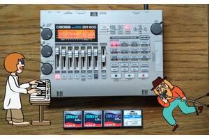 Портативная студия звукозаписи Boss BR 600.