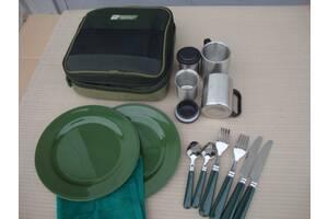посуда столовый набор охота рыбалка туристическая посуда набор рыбака