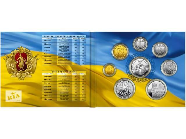 """продам Годовой набор монет: """"Монеты Украины 2019 года"""" бу в Киеве"""