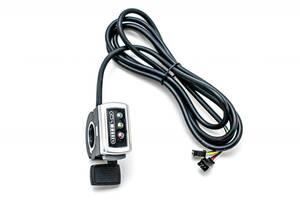 Ручка газа правая GP 106DX, c индикацией заряда, 48В