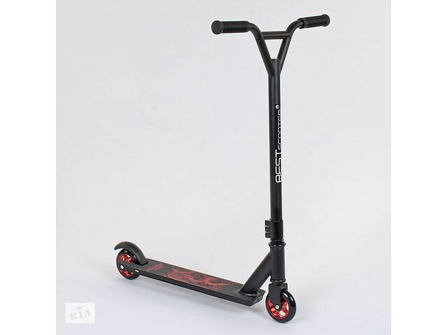 Самокат трюковый Best Scooter 49276 Черно-Красный