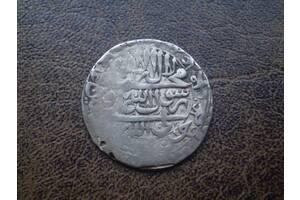 Серебро аббаси 1694-го года Персидское шахство