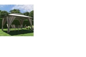 Шатер садовый 3м х 4м с плотной ткани полиэстер,павильон беседка