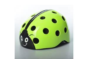 Шлем детский Bambi AS180065-3 20 вентиляционных отверстий Салатовый (int_AS180065-3)