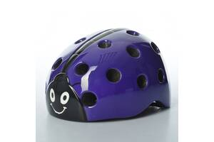 Шлем детский Bambi AS180065-4 20 вентиляционных отверстий Фиолетовый (int_AS180065-4)
