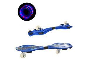 Скейт рипстик MS 0016-1 (2 вида), 84-22 см, 2 колеса PU