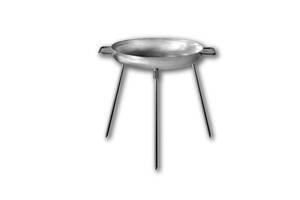Сковорода мангал Диск для пикника из нержавеющей стали 32 см Укрпромтех (upt_0061)