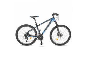 Спортивний велосипед 27.5 дюйма PROFI EB275STUBBORN CB275.2 чорно-синій