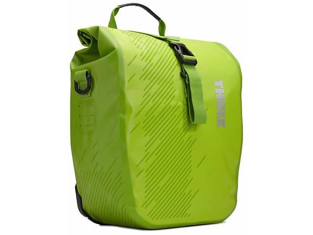 купить бу Сумка для велосипеда Thule Shield Pannier Small TH100067, зеленый в Киеве