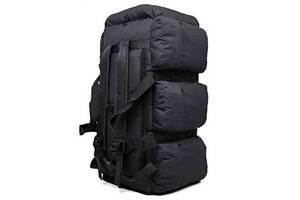 Сумка-рюкзак тактическая Kronos Top xs-90l3 черная 90 л (gr_009369)