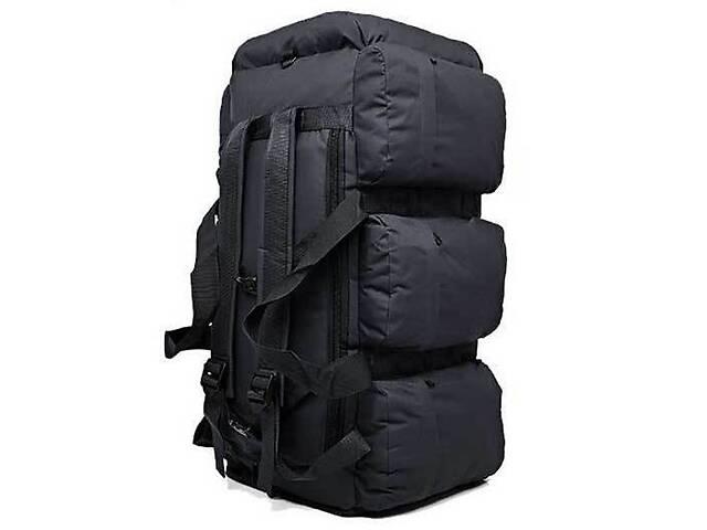 Сумка-рюкзак тактическая Kronos Top xs-90l3 черная 90 л (gr_009369)- объявление о продаже   в Украине