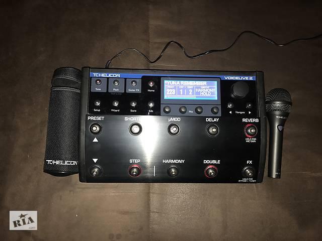 продам Tc Helicon VoiceLive 2+микрофон бу в Черкассах