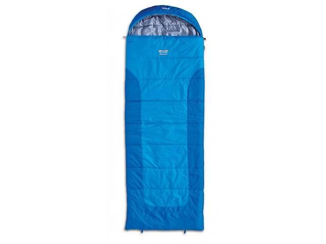 бу Трехсезонный спальник-одеяло Pinguin BLIZZARD 190 XL синий, спарка R, 190 см, PNG 218.190.Blue-R в Киеве