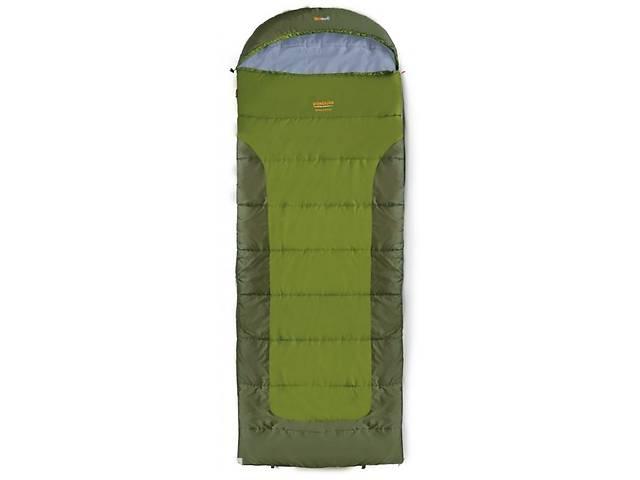 продам Трехсезонный спальник-одеяло Pinguin BLIZZARD 190 XL зеленый R, 190 см, PNG 218.190.Khaki-R бу в Киеве