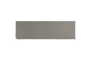 Туристический коврик Easy Camp Self-inflating Siesta Mat Single 1.5 cm Grey (928483)
