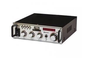 Усилитель звука UKC SN-004BT FM USB Bluetooth Караоке 300W+300W Black (3sm_859463904)
