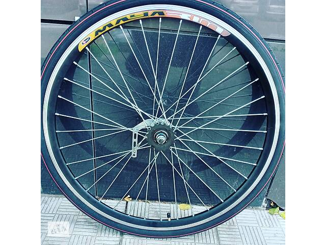 бу Вело колесо заднє на Україну на Салют 28 дюймів подвійний обід комплект в Харкові