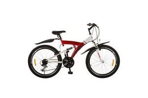 Велосипед 26д. Profi Trike M2615E Красно-белый (int_M2615E)
