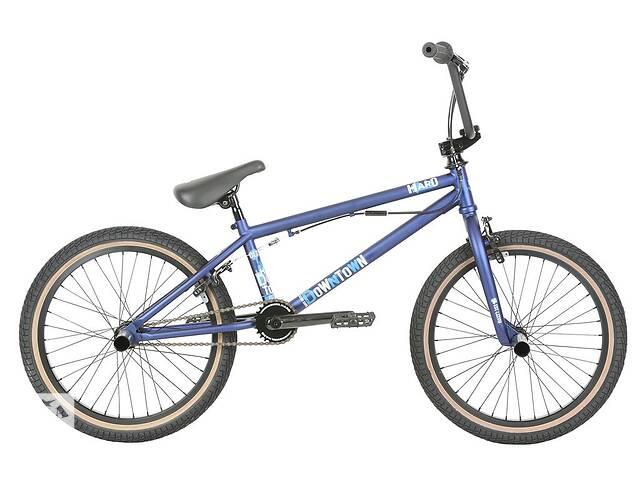 купить бу Велосипед BMX Haro 2019 Downtown DLX 20.5 TT Matte Blue в Одессе