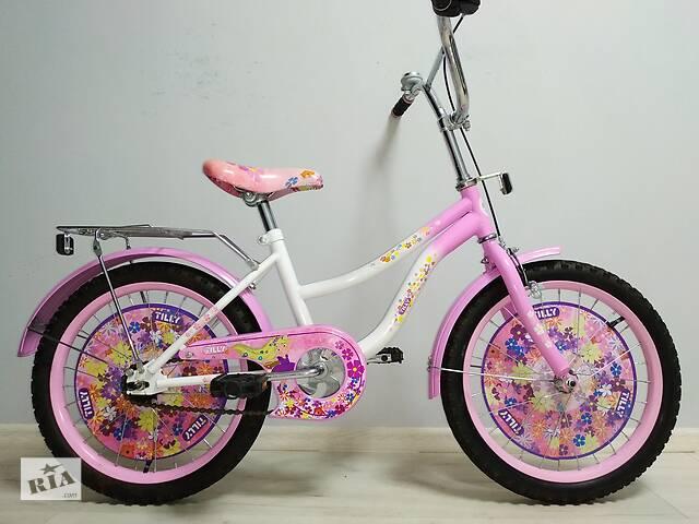 купить бу Велосипед Flower 5-9 років в Сєверодонецьку