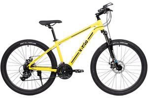 Велосипед горный детский Vento Monte 26 желтый