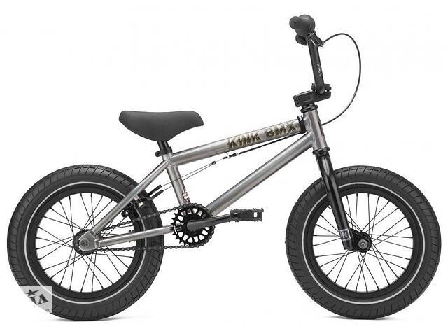 """бу Велосипед KINK BMX  Pump 14"""" 2021 серый в Львове"""